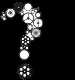 question mark gear